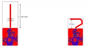 ورقة بيضاء: هوائي مطبوع أحادي القطب ربع الموجي للتردد 2.45 غيغا هيرتز