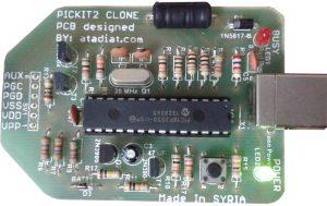 PICKIT2 clone programmer/debugger