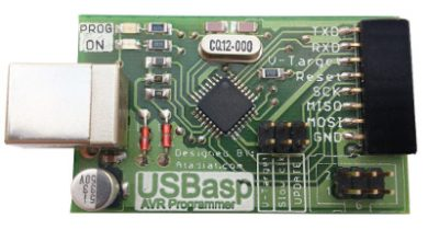 Photo of USBasp AVR Programmer — Mini Version