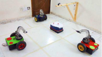 صورة إضاءة هندسيّة: بناء نظام روبوتات متعاونة Multi-agent Robots؛ مقابلة مع فريق إيليت من مصر