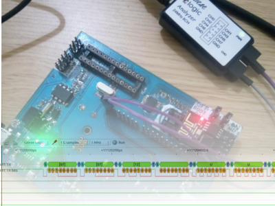 Photo of Hands-on Test: Saleae USB Logic Analyzer (24MHz 8CH Cheap Clone)