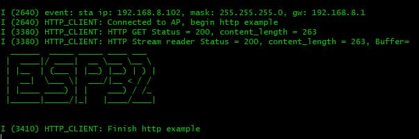 ESP32 ASCII ART API