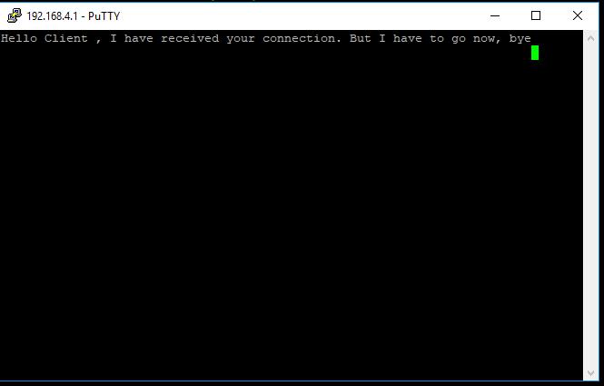 ESP32 TCP server response