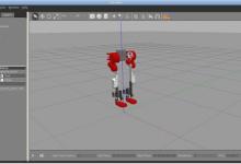 ROS هيكل روبوت محاكاة