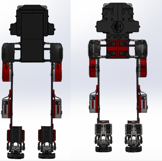 هيكل روبوتي