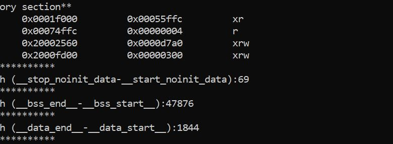 Photo of Getting Detailed Information of MCU Memory Usage from .map File