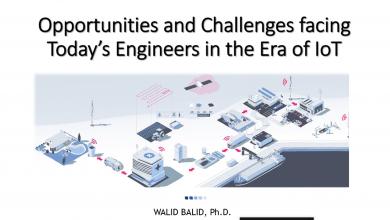 صورة الفرص والتحديات التي تواجه المهندسين في عصر التكنولوجية الجديدة – د. وليد بليد