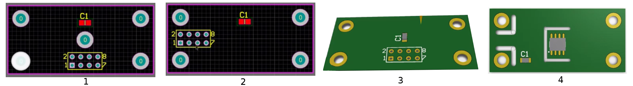 Capacitor placment PCB