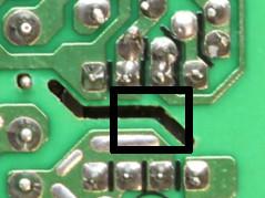 Cutouts PCB