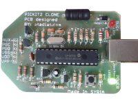 PICKIT2 مبرمجة لمتحكمات شركة Microchip