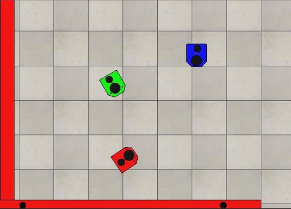 V-rep محاكاة روبوت