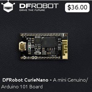 DFRobot CurieNano - A mini Genuino/Arduino 101 Board