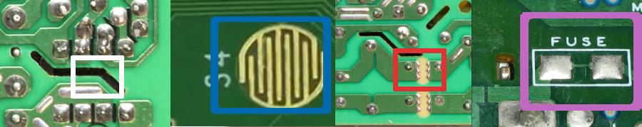 PCB marks