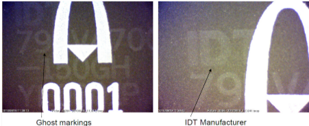 Fig. 12 - Ghost Marking [1]